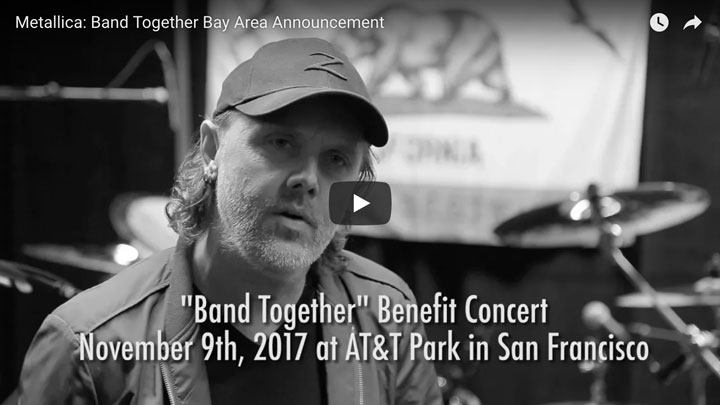 Presale Codes For Metallica Benefit concert at AT&T Park in San Francisco