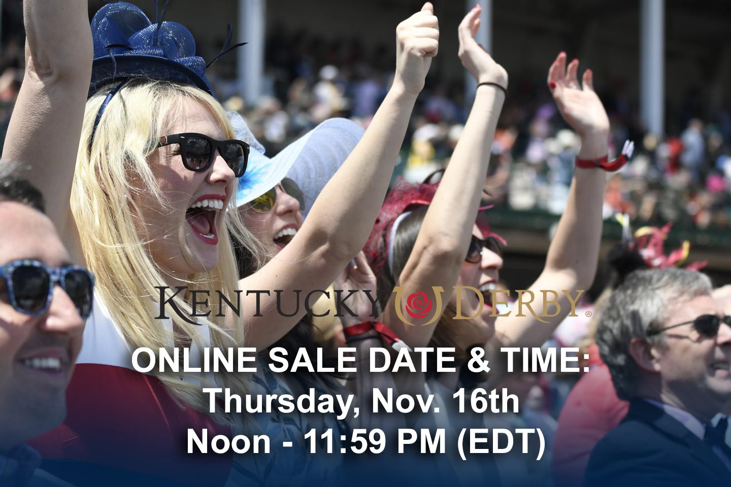 Exclusive Presale access for 2018 Kentucky Derby Ticket Sale