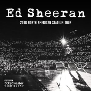 TM Verified Presale Codes for ED Sheeran Tour