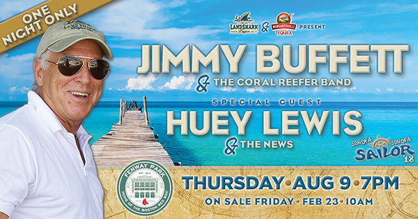 Presale Codes for JIMMY BUFFETT