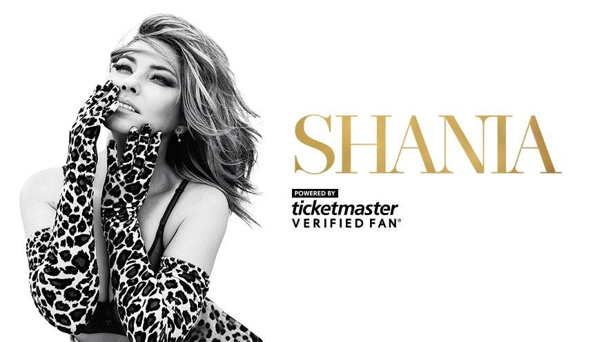 Presale Codes for Shania Twain's Nashville presale