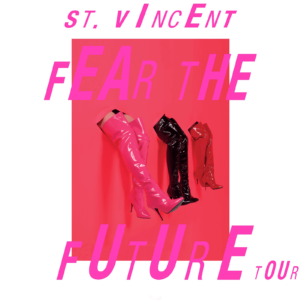 TM Verified Presale Codes For St. Vincent Tour 2017